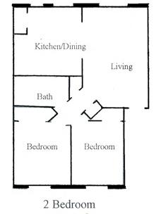 2 bedroom floor plan - Copy